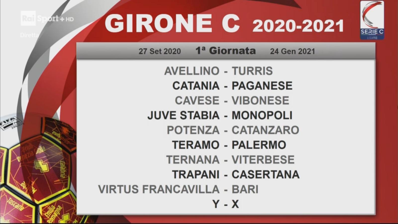Serie C, ecco i calendari 2020/2021: tutte le partite del Bari